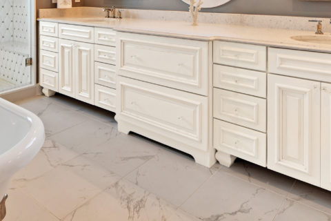 Custom Master Bathroom Cabinets