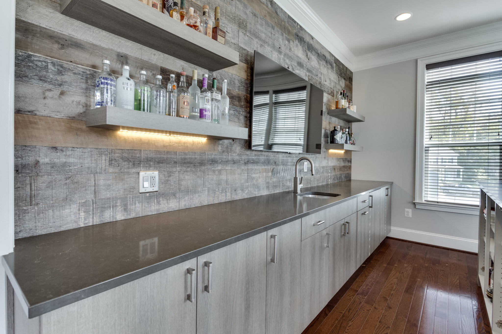Custom Home Bar Cabinet and Countertop by Element