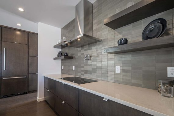 Las Vegas Custom Backsplash Countertop and Cabinets